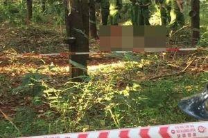 Thiếu nữ 16 tuổi chết gần như lõa thể trong lô cao su