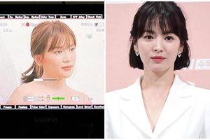 Để tóc mái mưa, chân dài sexy bị tố đập hộp hàng fake gây tranh cãi khi tự nhận giống Song Hye Kyo