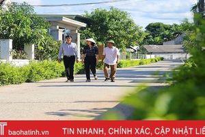 Phố đẹp trong làng quê Hà Tĩnh