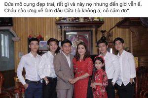 Sự thật ít người biết về câu chuyện tuyển vợ cho 4 con trai hotboy ở Nghệ An