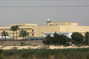 Hai rocket rơi gần Đại sứ quán Mỹ ở Baghdad, Iraq
