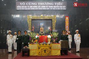Trang trọng lễ tang Đại tá Nguyễn Văn Bảy theo nghi thức quân đội