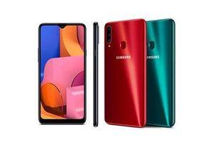 Samsung Galaxy A20s ra mắt với 3 camera sau, pin 4.000 mAh