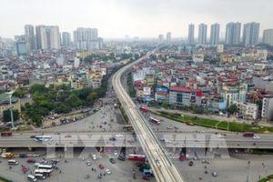Cấm đường một số tuyến để lắp thang máy ga đường sắt Nhổn-Ga Hà Nội
