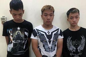 Bắt giữ nhóm đối tượng độ tuổi 15 -16 dùng hung khí cướp tiền và xe máy của tài xế xe ôm