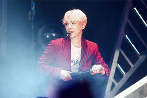 Lo lắng cho chấn thương hậu concert, Baekhyun (EXO) đáp lại sự quan tâm của fan bằng lời trấn an đáng yêu