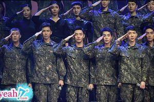Bức ảnh trong quân ngũ hot nhất hôm nay khi hội tụ các mỹ nam Kpop