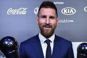 Vượt qua Van Dijk và Ronaldo, Messi đoạt danh hiệu FIFA The Best 2019