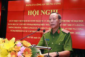 Quán triệt công tác chuẩn bị và tổ chức đại hội đảng các cấp trong CAND