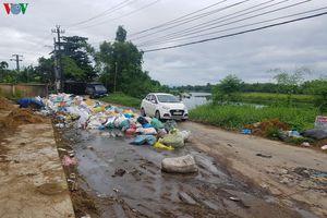 Các tỉnh miền Trung đối mặt với tình trạng ùn ứ rác thải