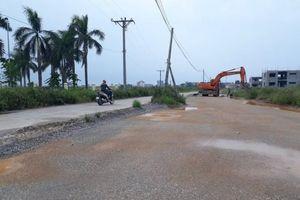Bắc Ninh: Thi công 2,3km đường để đổi lấy 6ha đất nông nghiệp