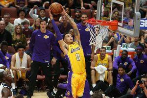 Los Angeles Lakers sẽ không thể có sự phục vụ của Kyle Kuzma trong trại tập huấn mùa hè