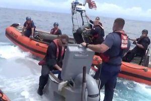 Cận cảnh những 'quan tài trôi' - tàu ngầm chở ma túy ở châu Mỹ Latinh