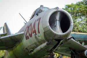 Cận cảnh MiG-17, loại máy bay tiêm kích đại tá Bảy A từng chiến đấu