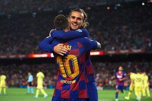 Griezmann tỏa sáng, Barcelona nhọc nhằn vượt qua Villarreal