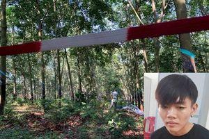 Lời khai ban đầu của nghi phạm sát hại thiếu nữ 16 tuổi trong lô cao su