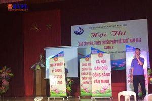 VKSND Nghi Lộc đạt giải Nhất tại Hội thi 'Báo cáo viên, Tuyên truyền viên pháp luật giỏi'