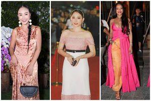 Linh Rin, Đoan Trang, Rihanna đều mặc xấu chỉ vì gam màu hồng sến sẩm