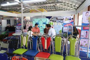 320 DN tham gia hội chợ triển lãm TPHCM tại Savanakhet