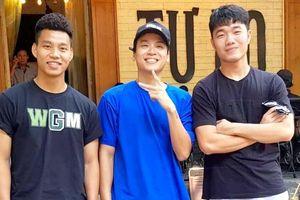 Xuân Trường, Văn Thanh 'hẹn hò' với ca sỹ bài Một nhà, fan giục gia nhập Da LAB