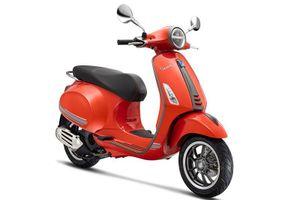 Xe Vespa Primavera S bản đặc biệt giá 76 triệu đồng có gì hay?