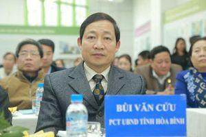 Thủ tướng cảnh cáo Phó chủ tịch tỉnh Hòa Bình Bùi Văn Cửu