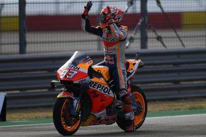 Chặng 14 MotoGP: Marquez có chiến thắng chặng thứ 8 trong mùa giải