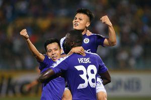 Chung kết lượt đi liên khu vực AFC Cup 2019: Hà Nội FC đầy tiếc nuối khi bị cầm hòa