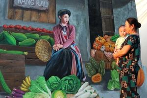 Làng bích họa bình yên ở ngoại thành Hà Nội