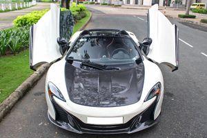 McLaren 650S Spider chơi trội với ống xả trị giá 300 triệu tại TP.HCM