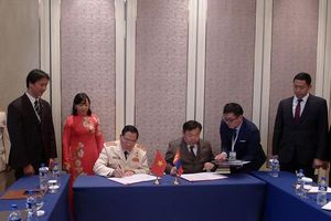 Cục Cảnh sát Quản lý trại giam ký bản ghi nhớ hợp tác với Mông Cổ