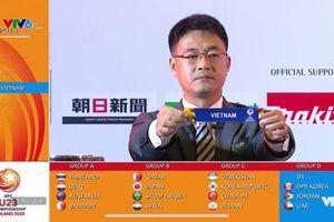VCK U23 châu Á 2020: Việt Nam may mắn rơi vào bảng đấu dễ thở nhất