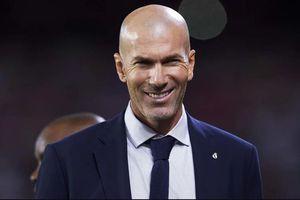 HLV Zidane nói gì khi Real đánh chiếm ngôi đầu La Liga?