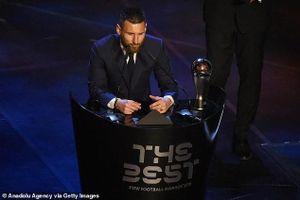 FIFA đã gian lận phiếu bầu khi vinh danh Lionel Messi?