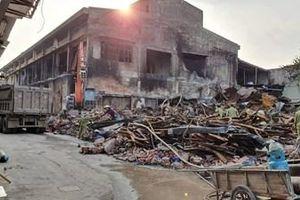 Tiến độ tẩy độc sau vụ cháy công ty Rạng Đông đang tới đâu?