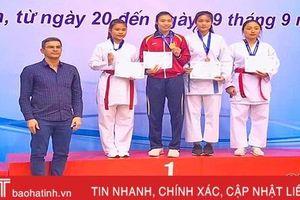 Hà Tĩnh giành 3 huy chương tại Giải vô địch karate quốc gia năm 2019