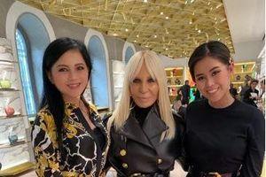 Cựu diễn viên Thủy Tiên hội ngộ cùng các nhà mốt danh tiếng tại Milan Fashion Week