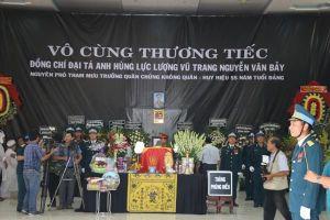 Đồng Tháp: Ngậm ngùi tiễn biệt Anh hùng phi công Nguyễn Văn Bảy