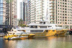 'Choáng' với chiếc du thuyền bọc vàng trị giá hơn 460 tỷ đồng, lớn nhất thế giới