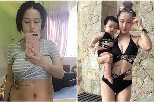 Vừa đầy tháng con, mẹ trẻ đã lấy lại vòng eo 60 nhờ làm việc này ngay sau khi sinh 10 ngày