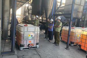 Bắc Giang: Tiêu hủy hơn 11 nghìn lít xăng kém chất lượng