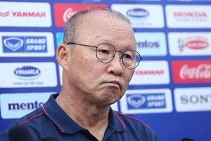 HLV Park Hang-seo thấy may mắn vì Việt Nam không chung bảng với Hàn Quốc
