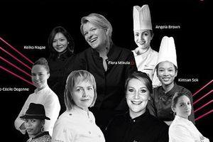 Cuộc tranh tài của các nữ Siêu đầu bếp quốc tế lần đầu tiên diễn ra tại TP.HCM