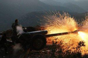 Syria nã pháo dồn dập vào phiến quân ở Latakia