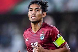 Dangda trở lại, Thái Lan có hàng công mạnh để đấu UAE