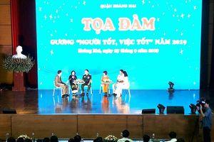 Quận Hoàng Mai: 11 cá nhân nhận danh hiệu 'Người tốt, việc tốt' 2019