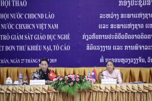 Đẩy mạnh hợp tác giữa Quốc hội Việt Nam và Lào