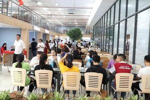 Trường ĐH có khu ẩm thực cho sinh viên
