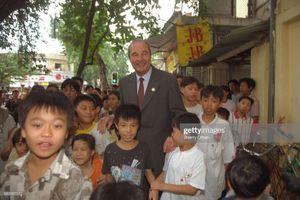 Những khoảnh khắc đáng nhớ của cựu Tổng thống Pháp Jaques Chirac ở Việt Nam