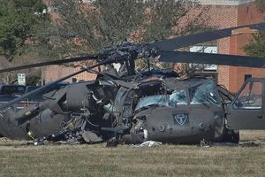 Trực thăng Black Hawk rơi khi đang làm nhiệm vụ khiến 4 người thương vong